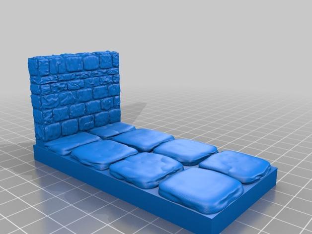 迷你石墙 3D模型  图17