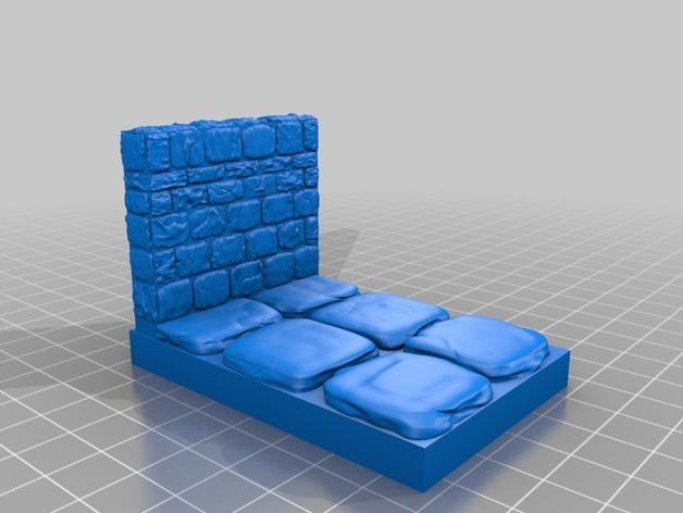 迷你石墙 3D模型  图18