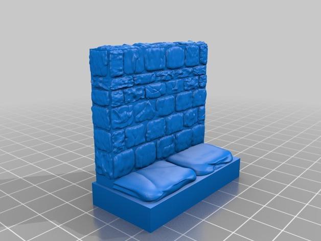 迷你石墙 3D模型  图19