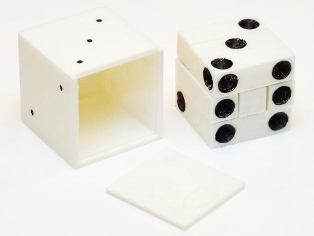 拼图骰子 3D模型  图4