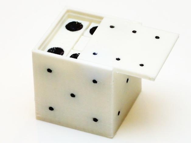 拼图骰子 3D模型  图3