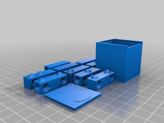 拼图骰子 3D模型  图2