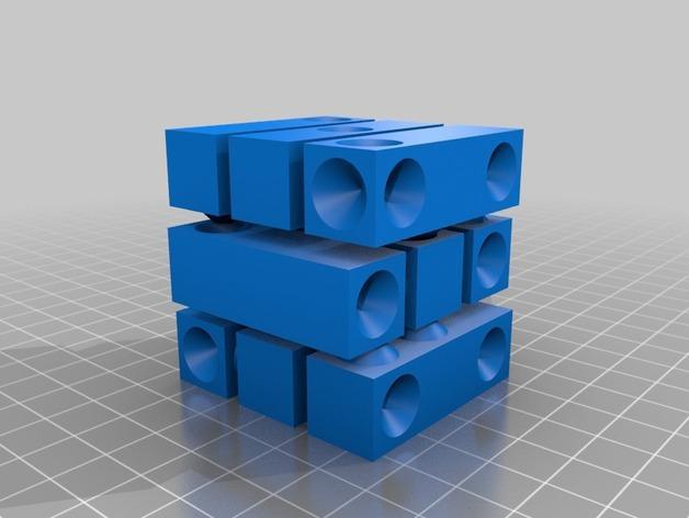 拼图骰子 3D模型  图7