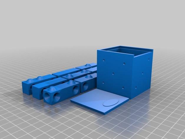 拼图骰子 3D模型  图8