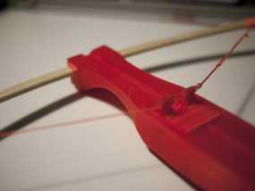 十字弓 3D模型