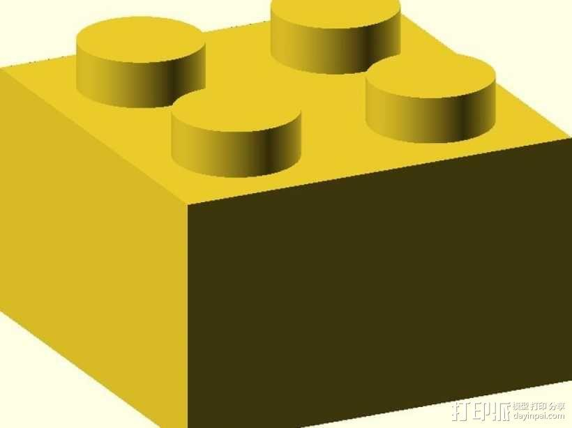 乐高方块 3D模型  图4