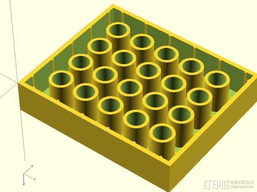 乐高方块 3D模型  图3