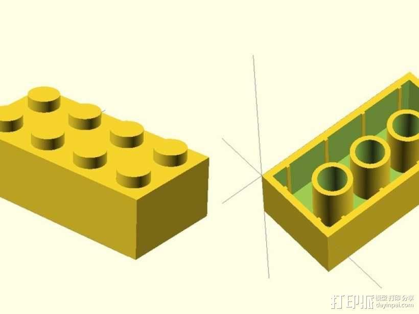 乐高方块 3D模型  图6