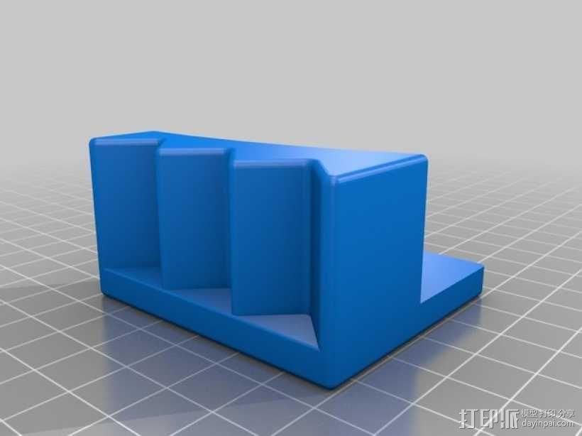 XRocker方向盘支架 3D模型  图2