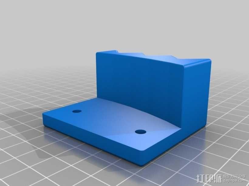XRocker方向盘支架 3D模型  图3