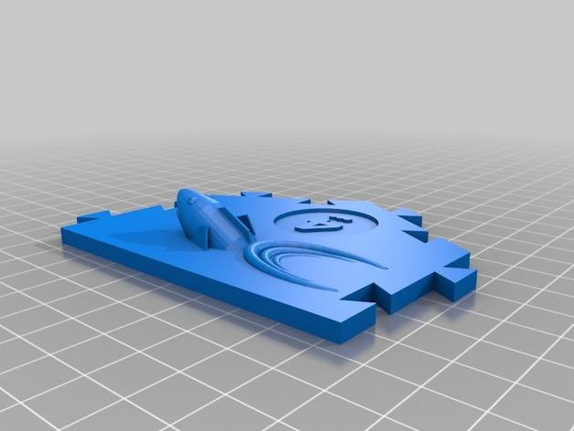 瓦片玩具 3D模型  图2