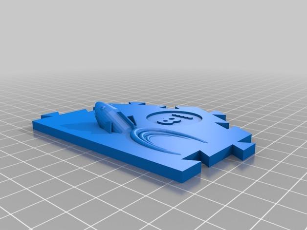 瓦片玩具 3D模型  图3
