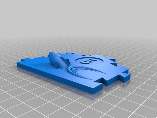 瓦片玩具 3D模型  图5