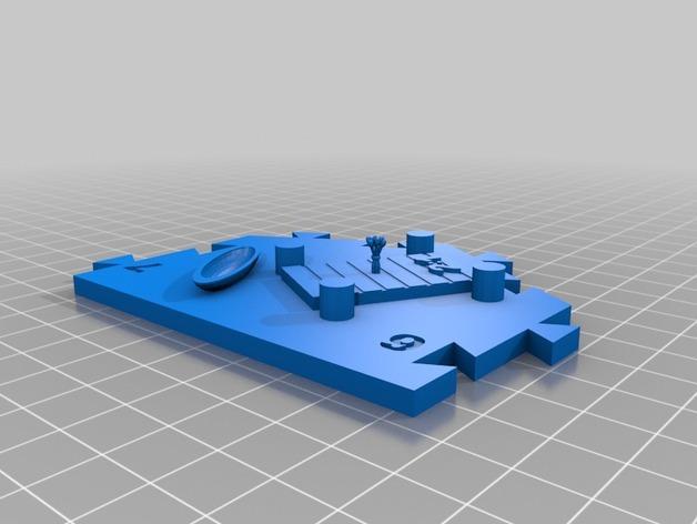 瓦片玩具 3D模型  图9