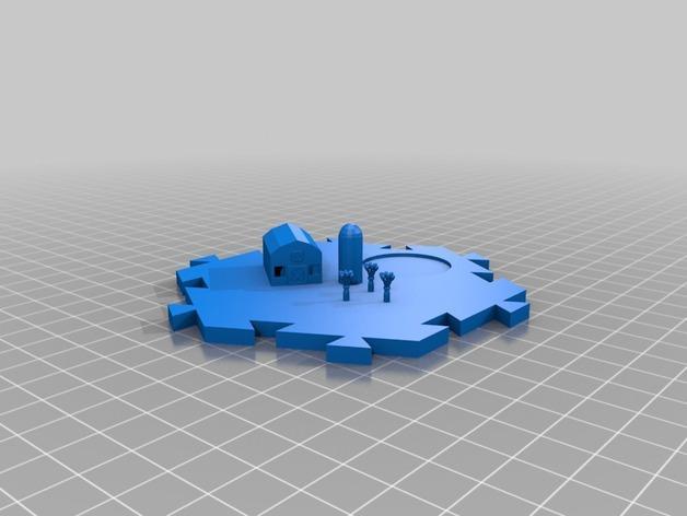 瓦片玩具 3D模型  图8