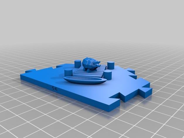 瓦片玩具 3D模型  图10