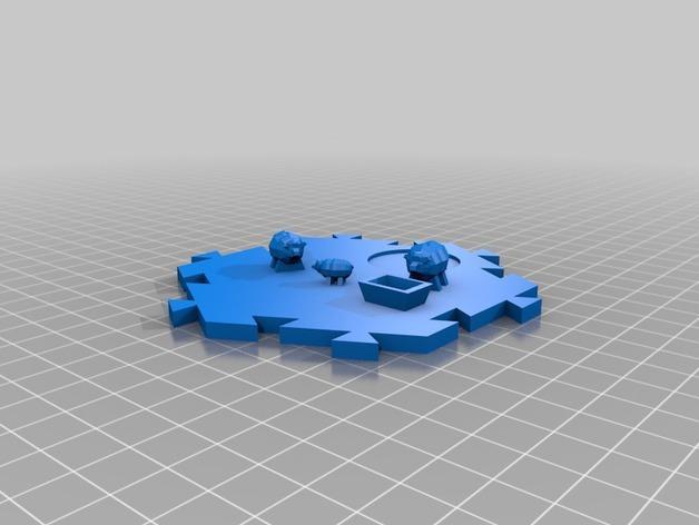 瓦片玩具 3D模型  图15