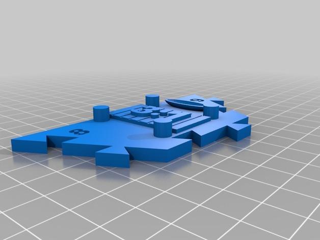 瓦片玩具 3D模型  图23