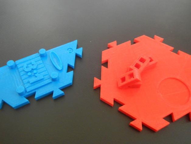 瓦片玩具 3D模型  图34
