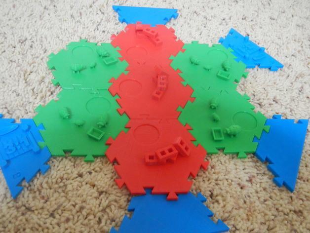 瓦片玩具 3D模型  图35