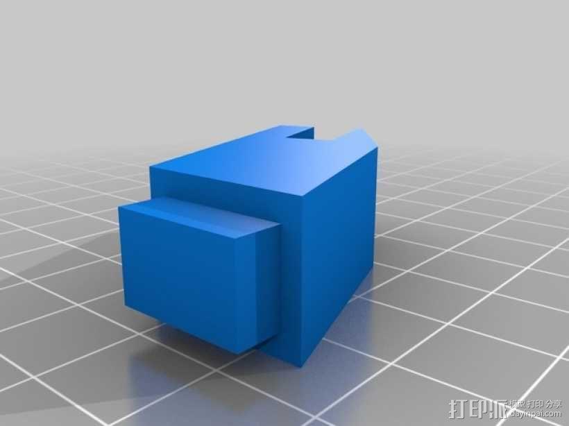 导弹发射台 3D模型  图2