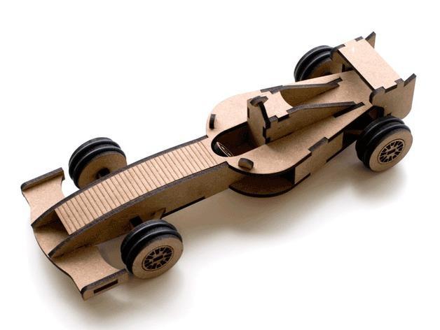 Formula 1赛车 3D模型  图3