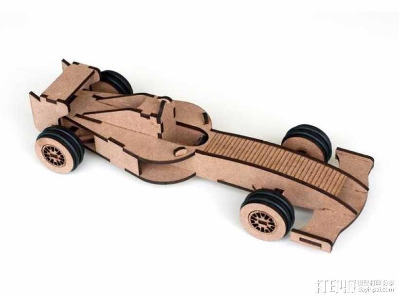 Formula 1赛车 3D模型  图1