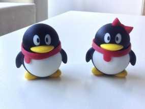 腾讯企鹅 3D模型
