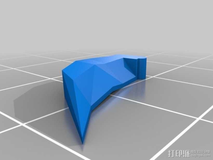 Orkks玩偶 3D模型  图3