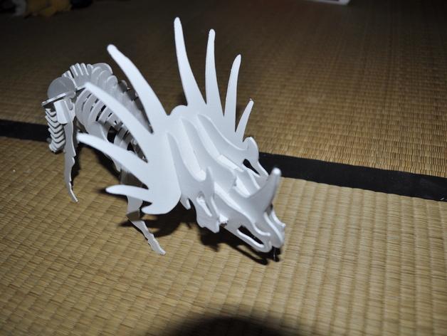 三角龙 3D模型  图1