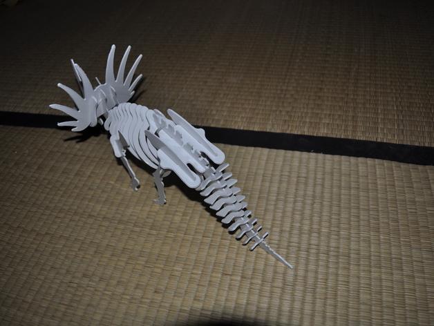 三角龙 3D模型  图4
