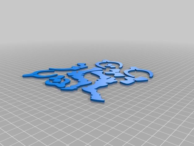 三角龙 3D模型  图6