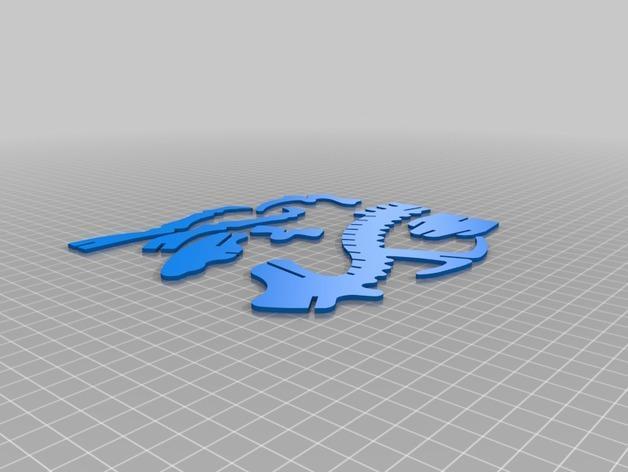 三角龙 3D模型  图8