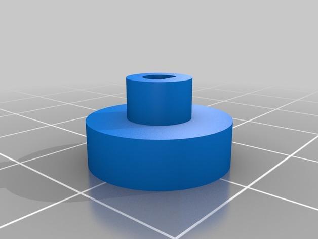几何形转轮 3D模型  图2