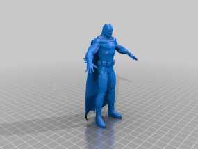 蝙蝠侠 3D模型