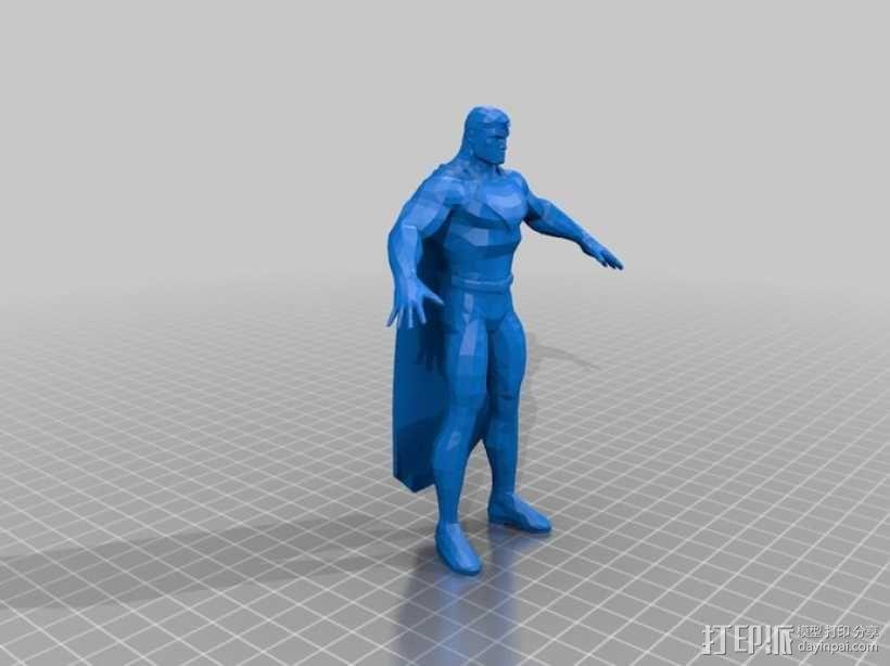 蝙蝠侠 3D模型  图4
