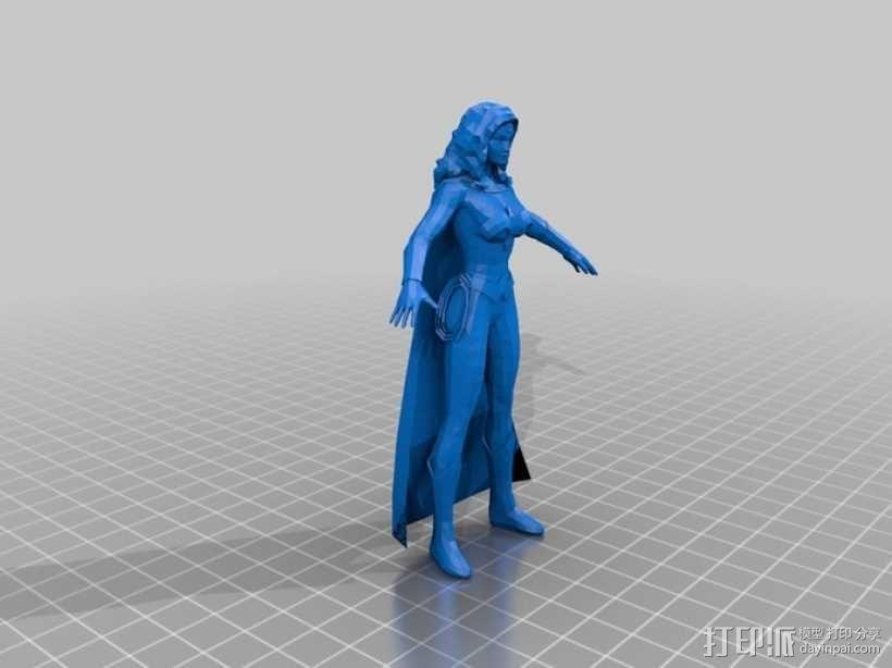 蝙蝠侠 3D模型  图5