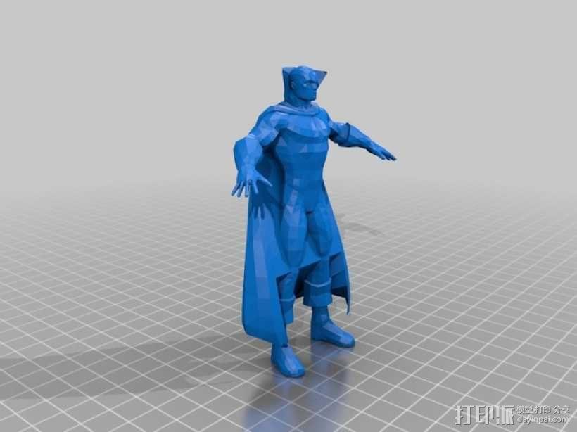 蝙蝠侠 3D模型  图7