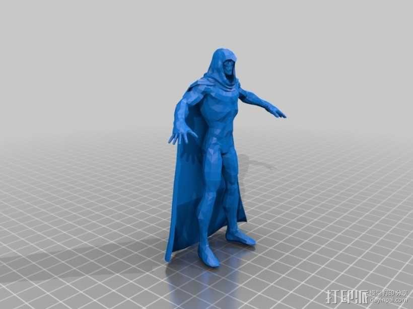 蝙蝠侠 3D模型  图8