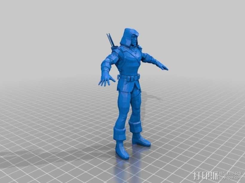 蝙蝠侠 3D模型  图11
