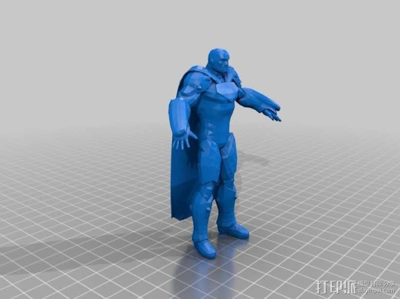 蝙蝠侠 3D模型  图9