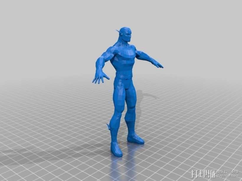 蝙蝠侠 3D模型  图10