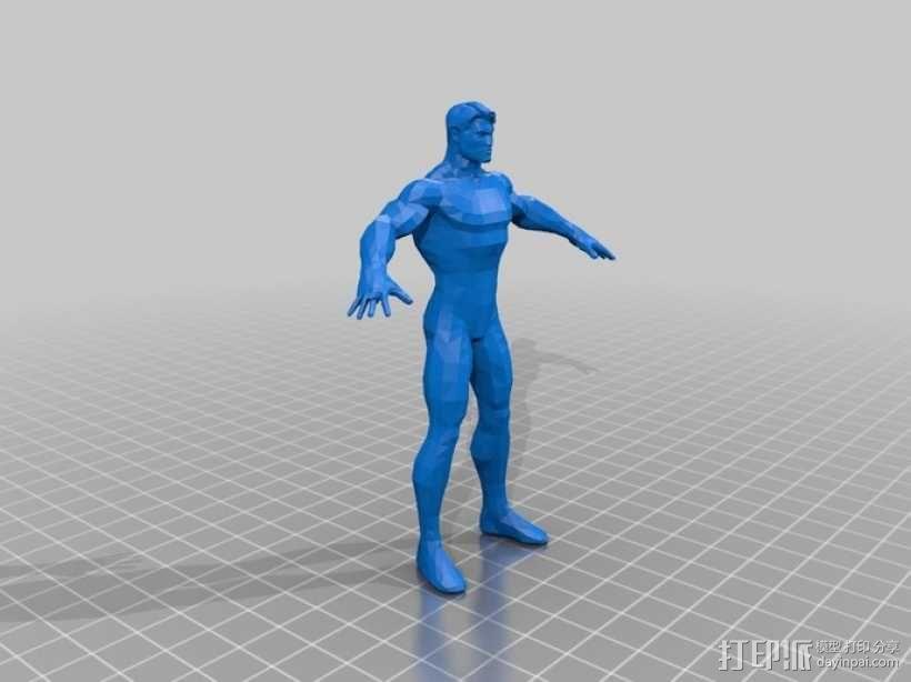 蝙蝠侠 3D模型  图12