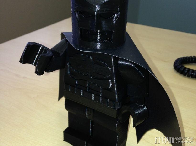 迷你蝙蝠侠 3D模型  图2