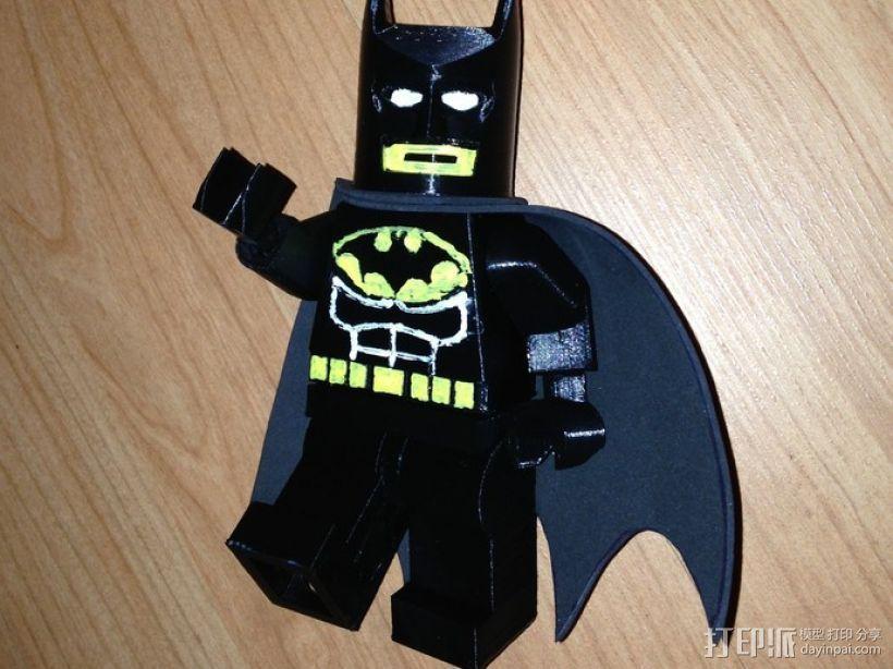 迷你蝙蝠侠 3D模型  图1