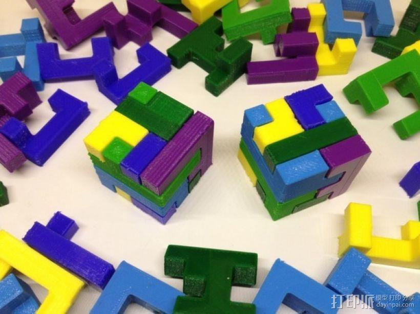 联锁拼图 3D模型  图1