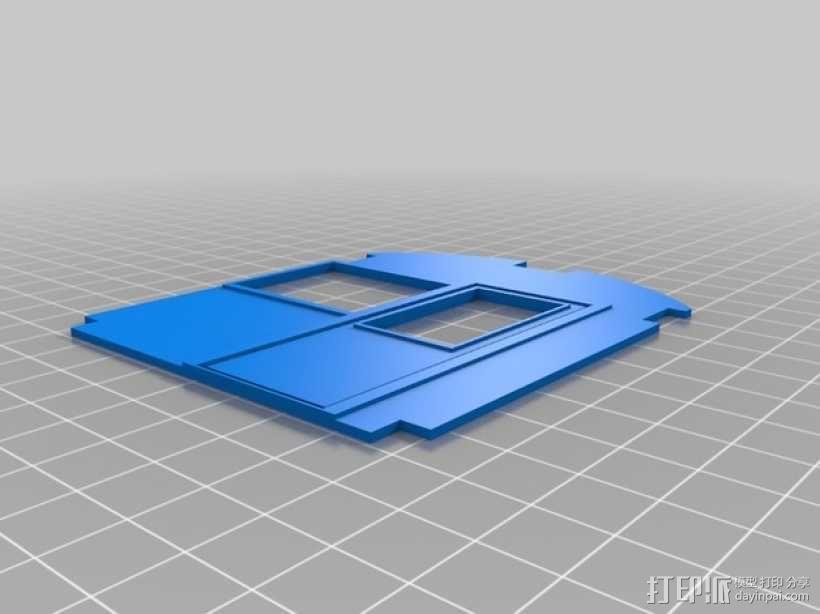 玩具火车 3D模型  图2