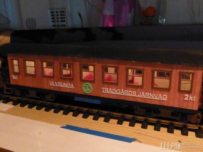 玩具火车 3D模型  图3