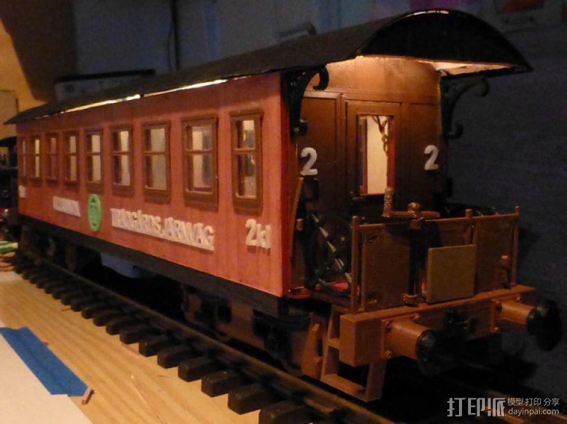 玩具火车 3D模型  图4