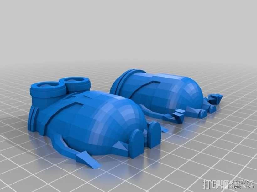 小黄人 3D模型  图2